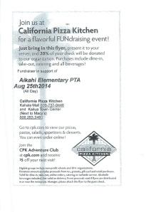 CPK fundraiser